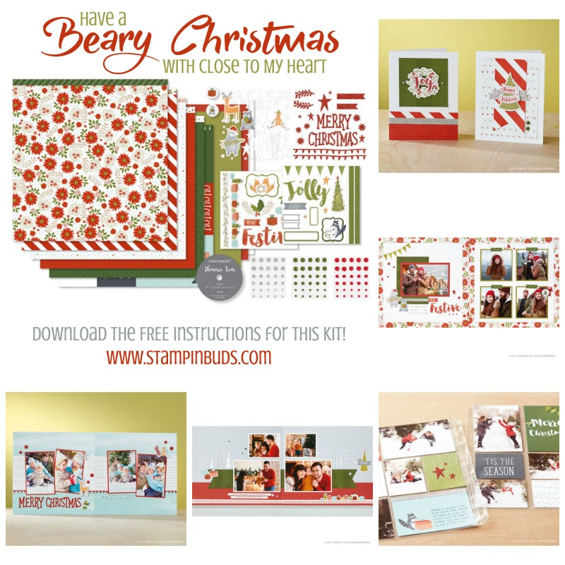Beary Christmas WYW Kit Projects