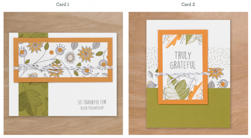 2 Quick Cards of Thanks