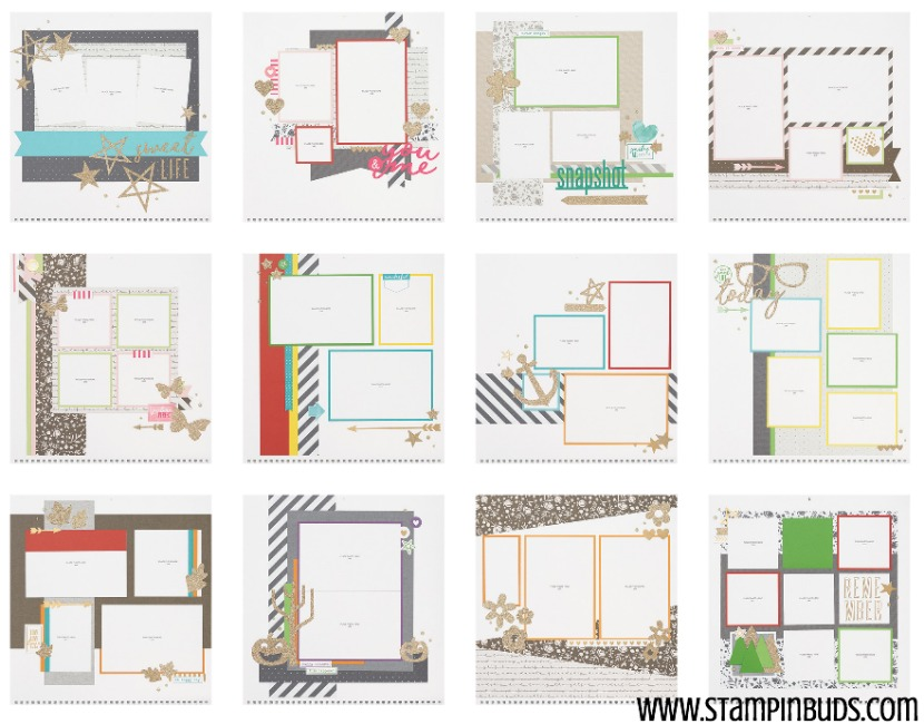 Through the Year Calendar Kit - 12 Pages