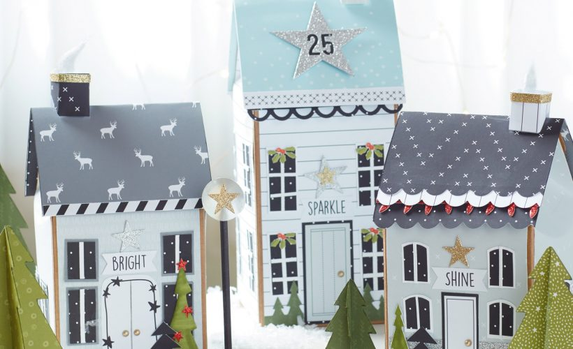 Create this Holiday Village