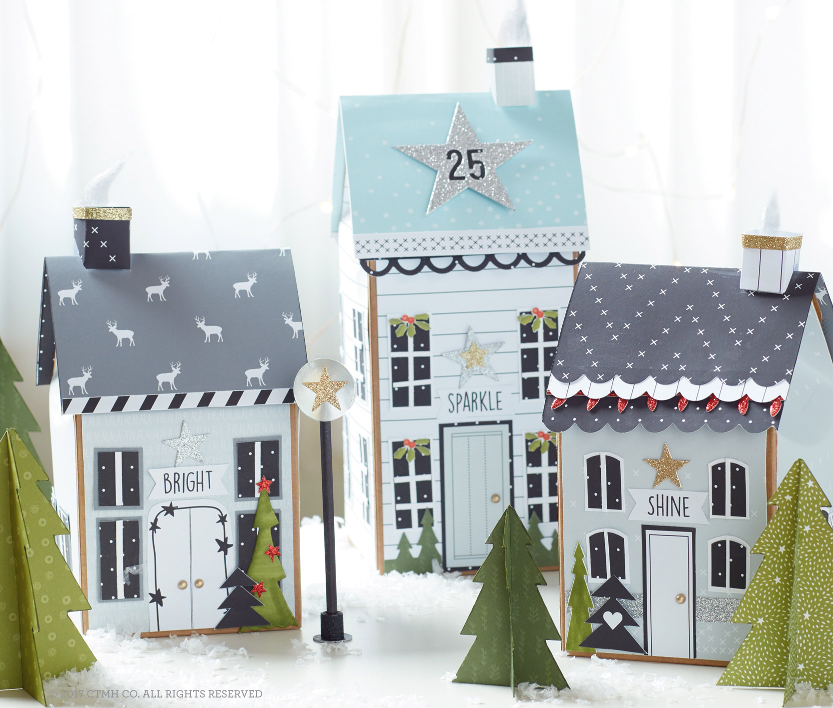 Create your Holiday Village