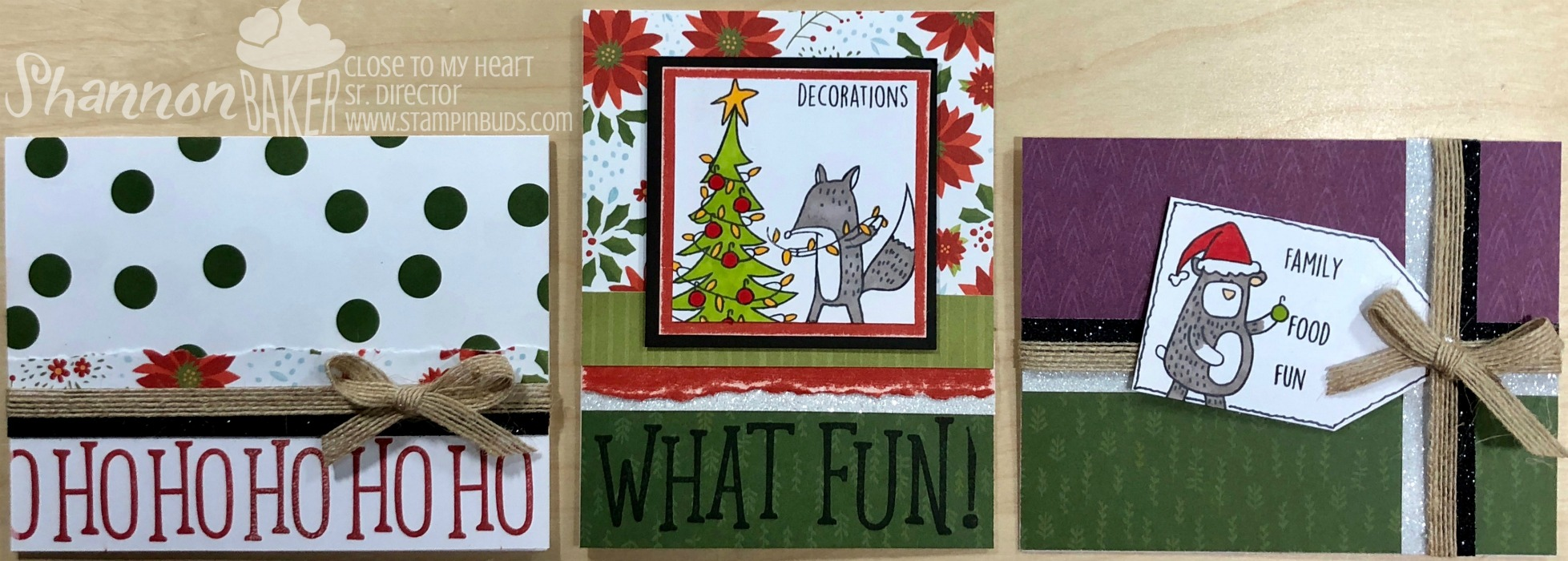 Oh What Fun Beary Christmas Cards