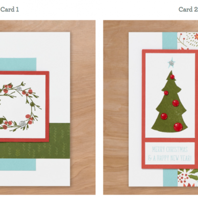 2 Quick Holiday Cards
