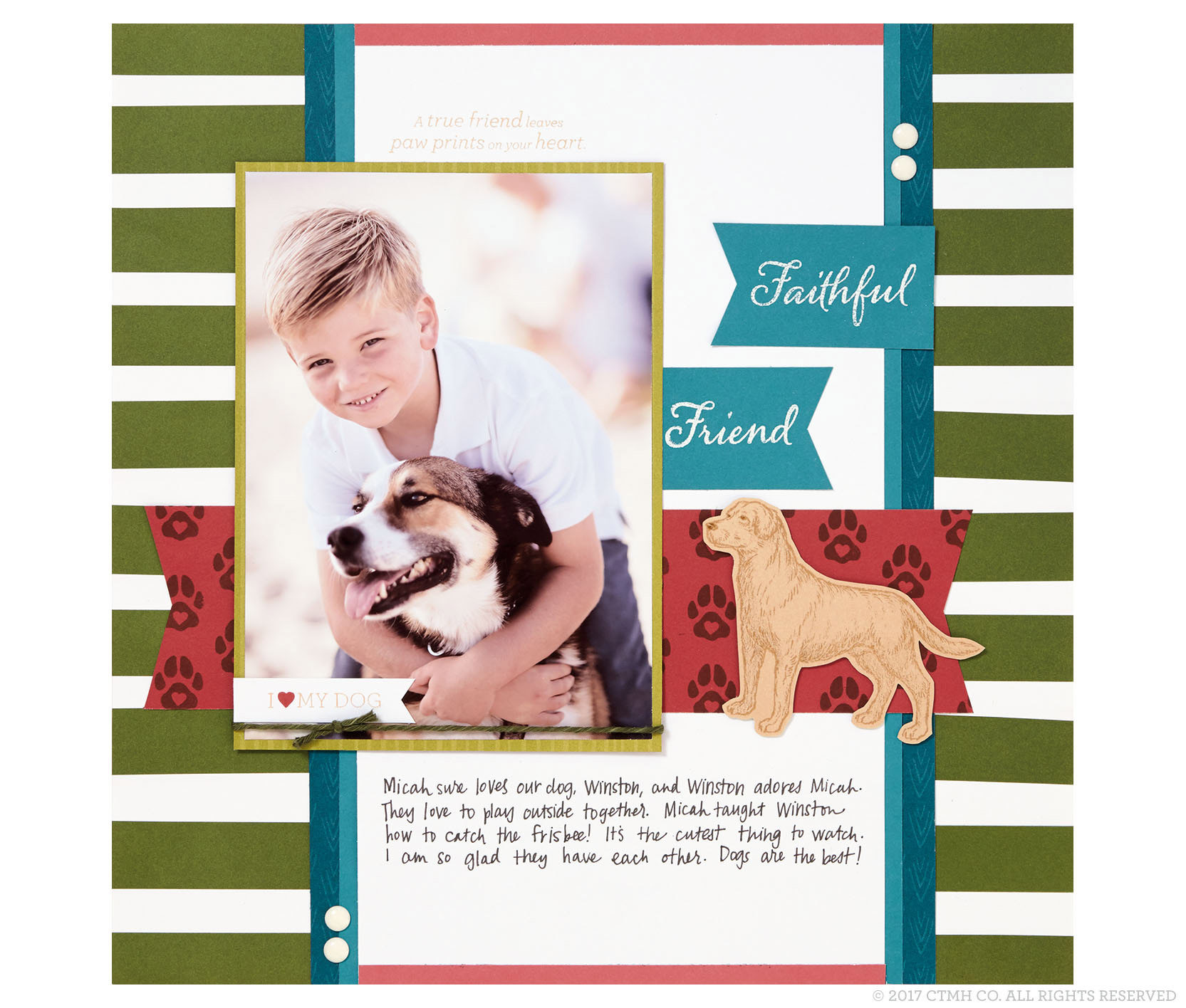 Faithful Friend Page
