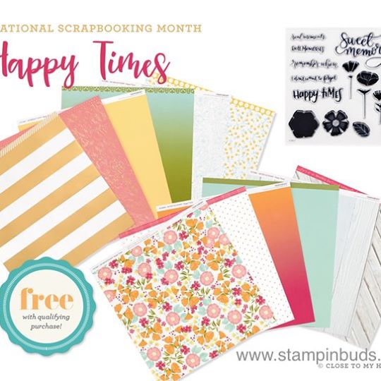 Happy Times Paper and Stamp Set