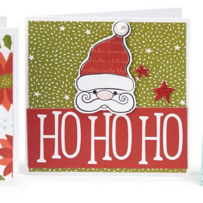 St. Nick & Snowflake Cards