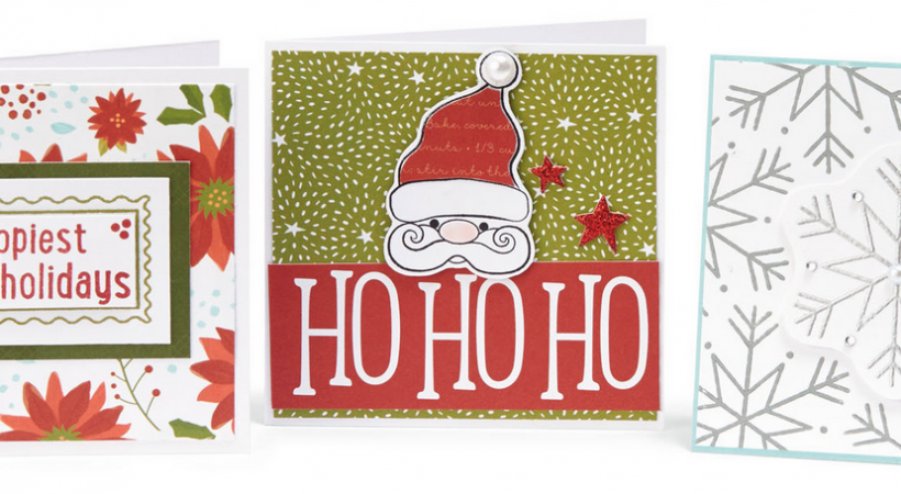 Saint Nick & Snowflake Holiday Mini Cards