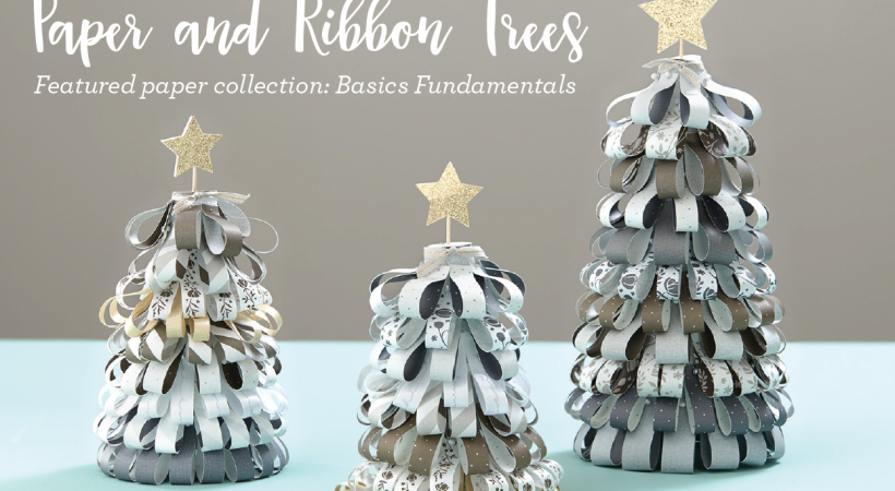 Paper & Ribbon Trees Project