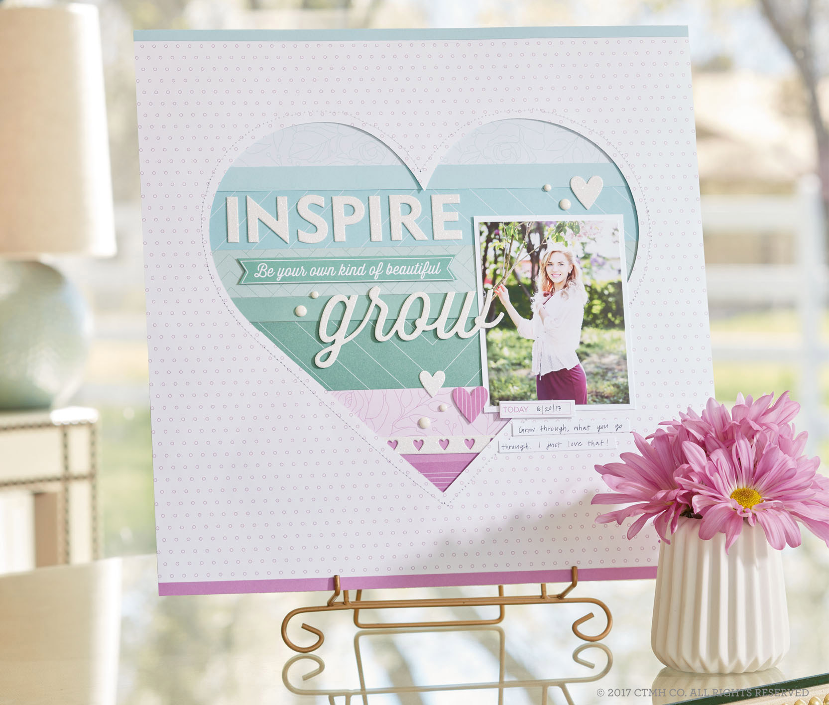 Whimsy Inspire Grow Page