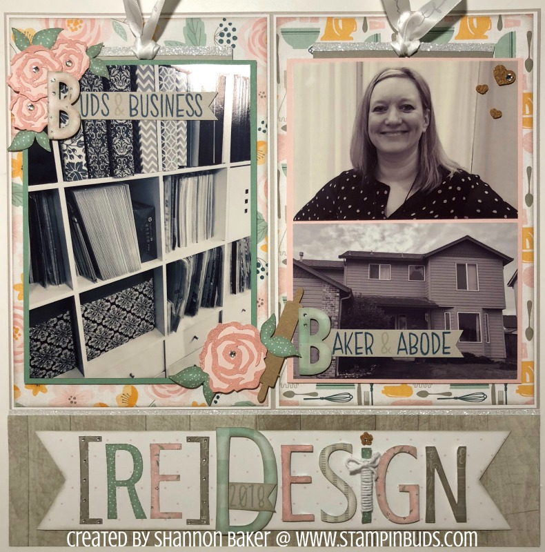 reDesign OLW Layout using Gimme Some Sugar CTMH Paper