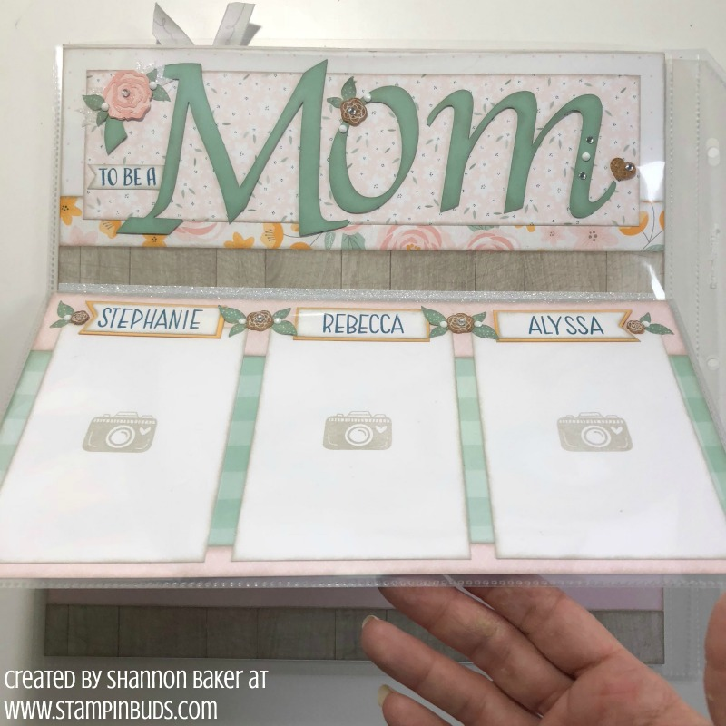 Gimme Some Sugar Mom Scrapbook Page Extra