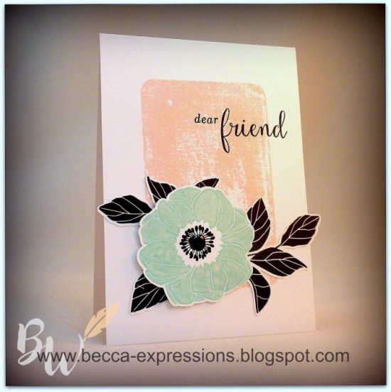 Becca Whitham Color Challenge - Bashful, Glacier, Black
