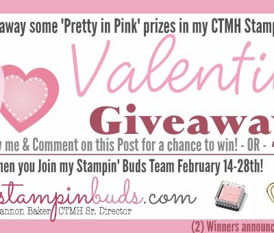 Pretty in Pink prizes for Valentine's Day