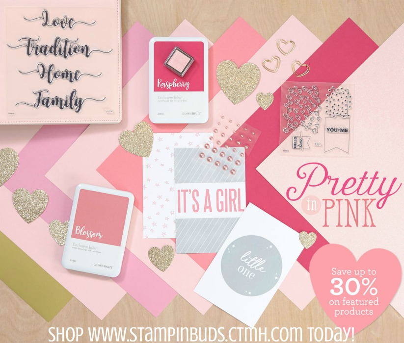 Pretty in Pink CTMH Special Feburary 2018