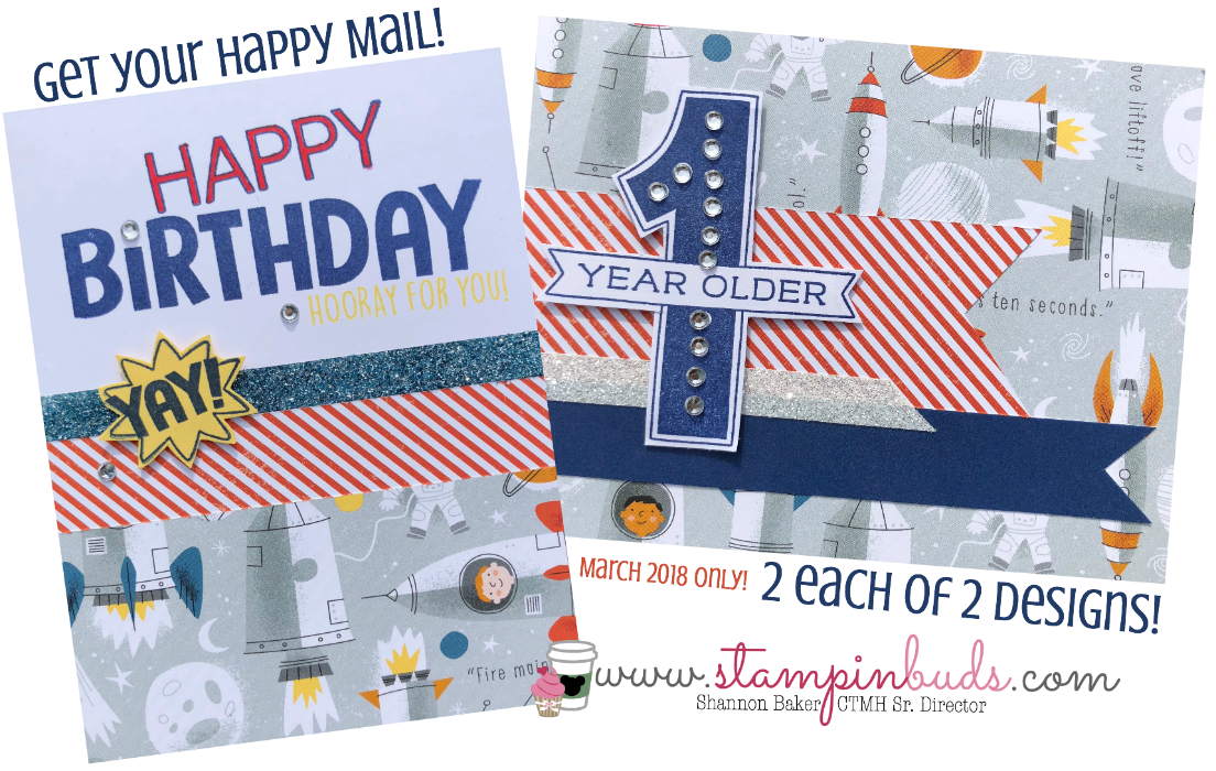 Happy Mail Birthday Time March 2018 CTMH