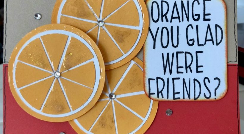 Poppy, Almond, Tangerine – Color Challenge