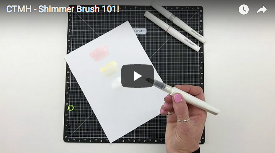 CTMH Shimmer Brush 101 Video