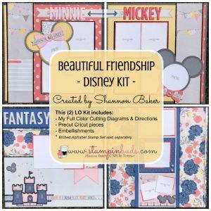 CTMH Beautiful Friendship Disney Kit