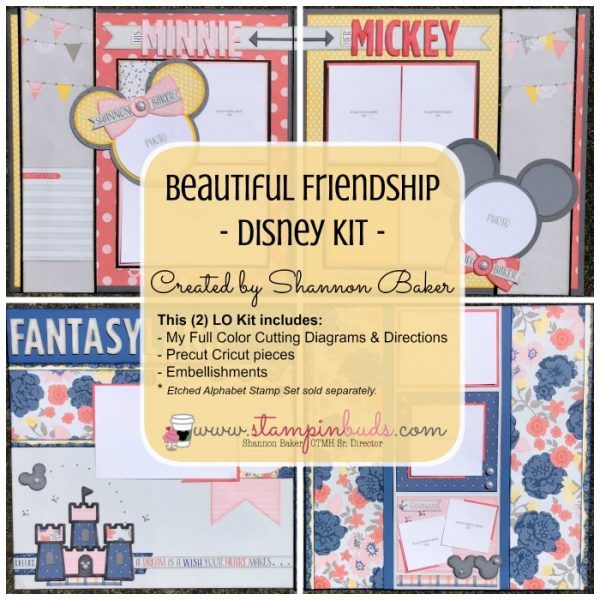 CTMH Beautiful Friendship Disney Kit