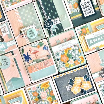A Postcard Perfect Card Workshop
