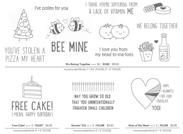CTMH Stamps
