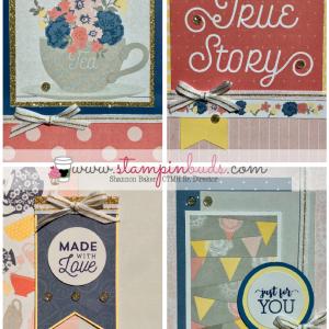 Beautiful Friendship Scrapbox Cards