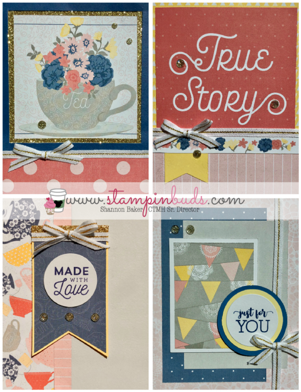 Beautiful Friendship Scrapbox Cards