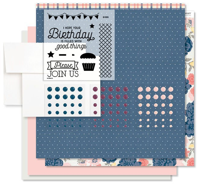 CTMH Beautiful Friendship Festive Birthday Cardmaking Kit