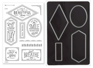 CTMH Fresh Air Cardmaking Stamp Set