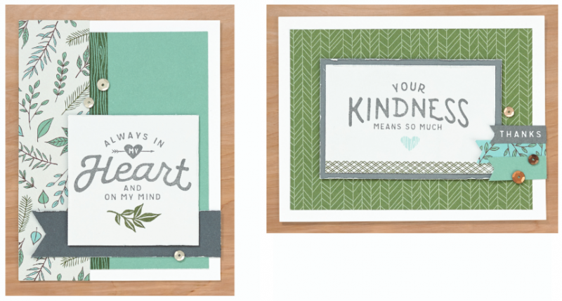 CTMH In My Heart Fresh Air Cards