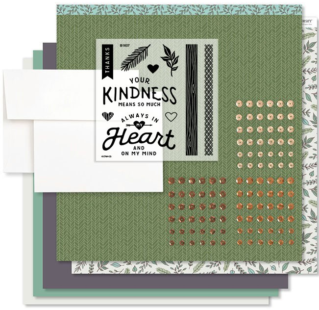 Fresh Air In My Heart Cardmaking Kit