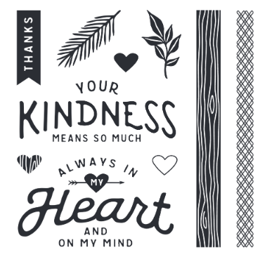 In My Heart Stamp Set