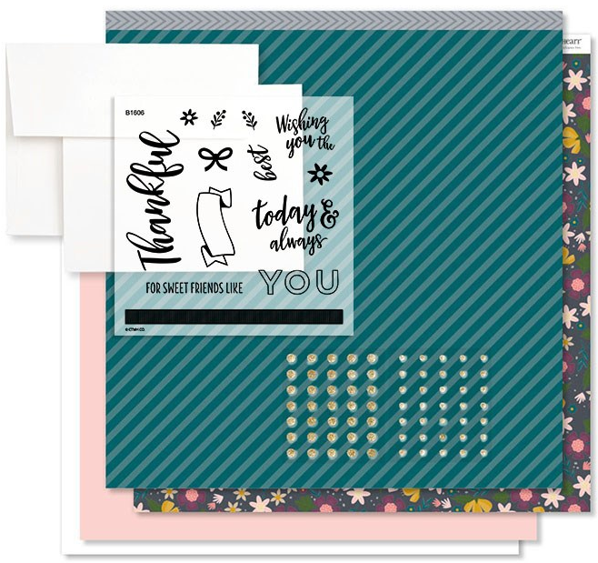 Documented Sweet Friends Card Kit