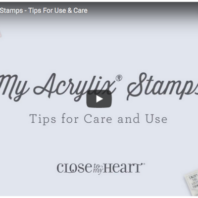 Acrylix Stamps – Tips for care & use