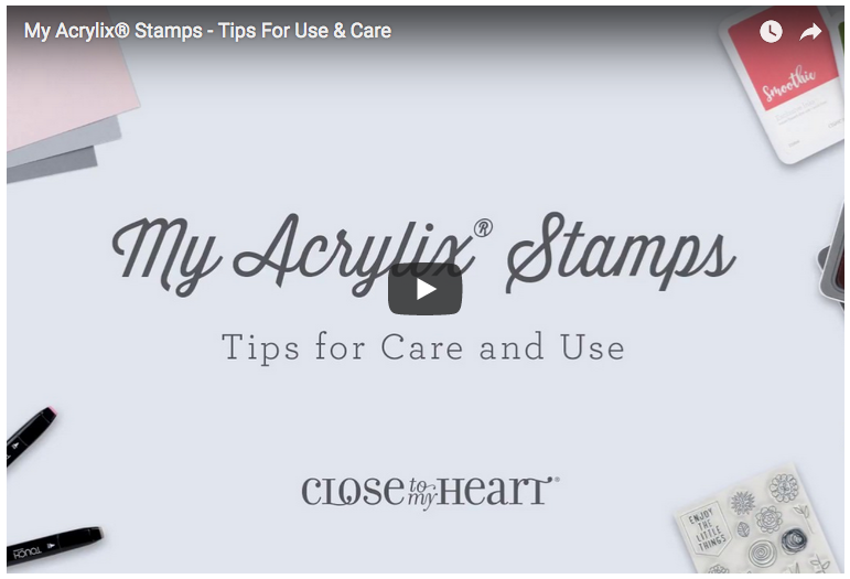 My Acrylix Stamps – Tips for care & use