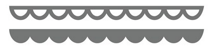 This Cuts Scallop Border