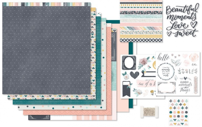 WYW Boutique Scrapbooking Kit