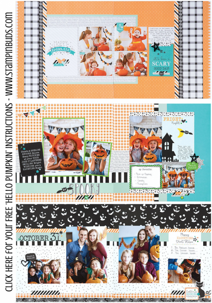 CTMH Hello Pumpkin WYW Kit Samples