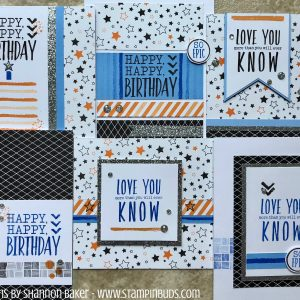 Hello Pumpkin Cards - Epic Birthday 2018