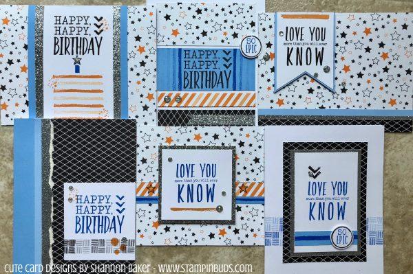 Hello Pumpkin Cards - Epic Birthday 2018