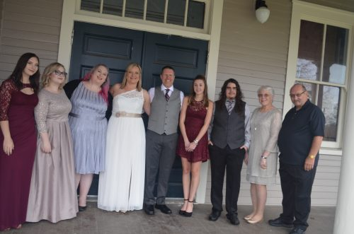 Wedding Day with Family 2016