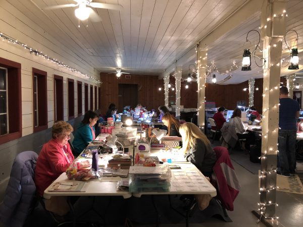 Scappoose Creek Inn Scrapbook Retreat 2018