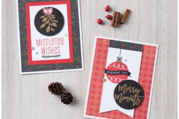Mistletoe Wishes Cardmaking WYW Kit
