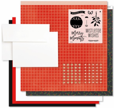 Mistletoe Wishes WYW Cardmaking Kit