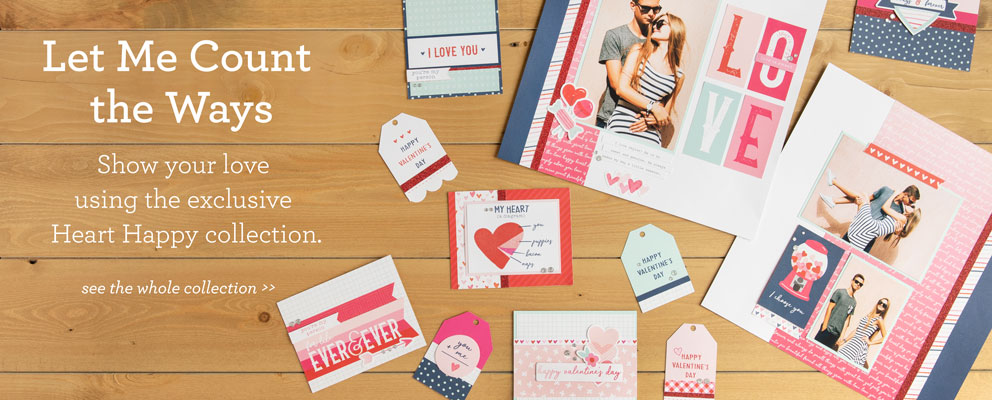Happy Heart Paper Collection