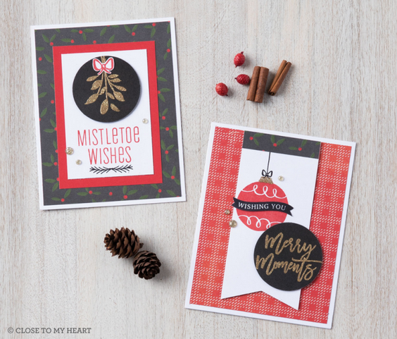 Mistletoe Wishes Cardmaking WYW Kit