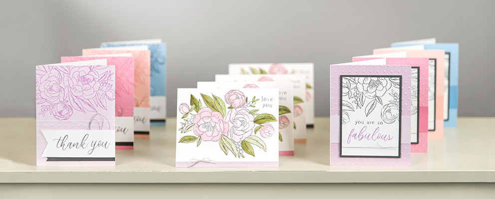 Love Blossoms in this beautiful Card Workshop…