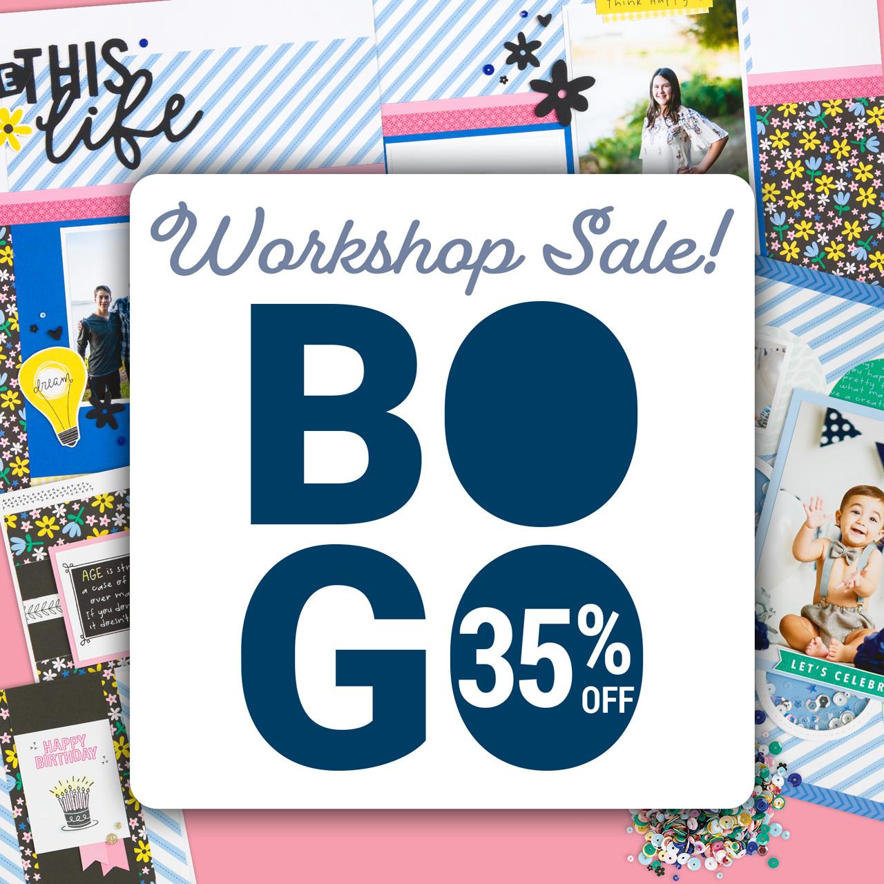 CTMH BOGO 35% off Sale