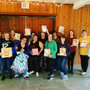 October 2019 Scrapbook Weekend Retreat