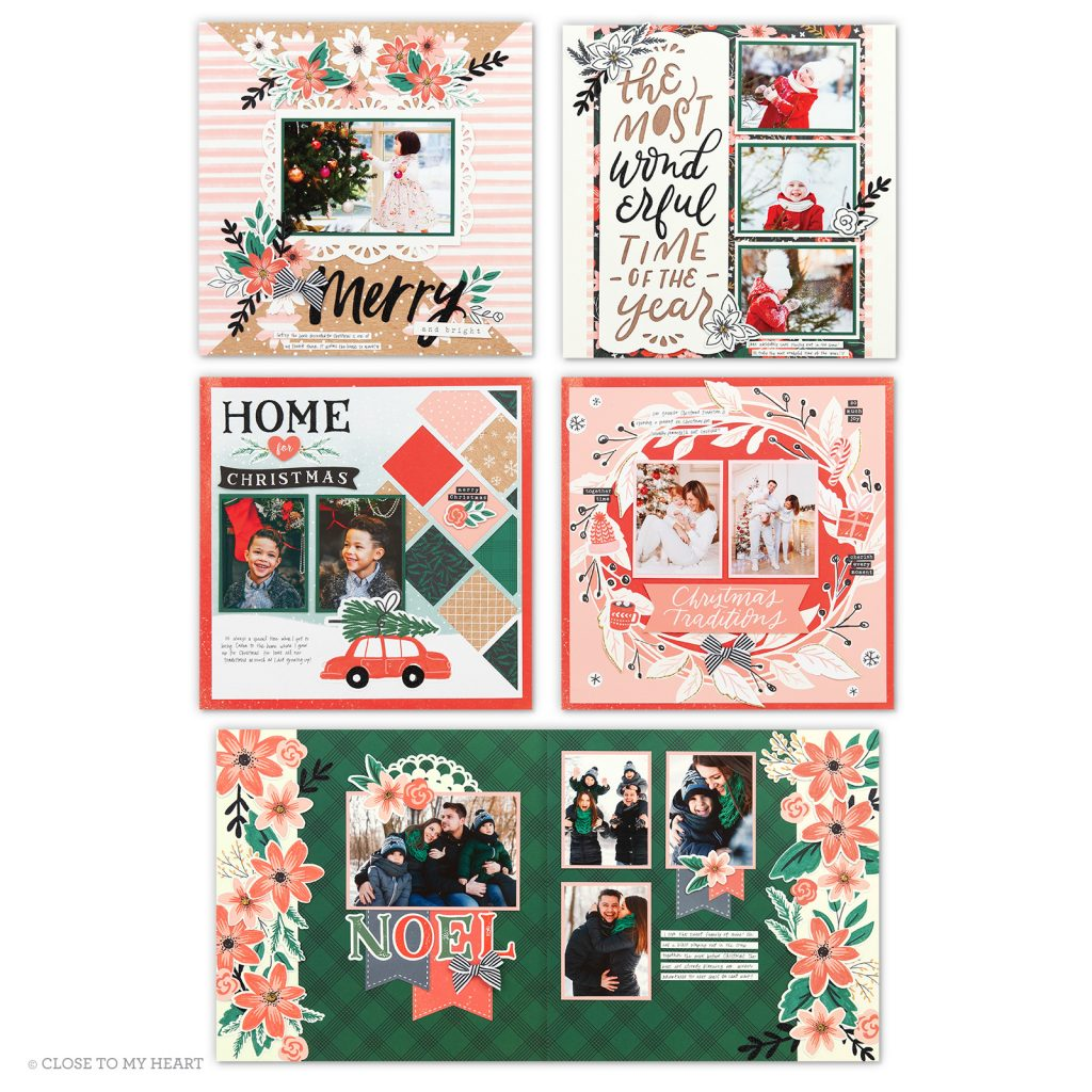 2019 - Cedar and Pine Scrapbooking Kit